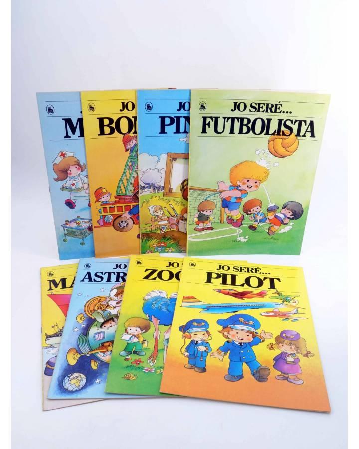 Cubierta de COL.LECCIÓ JO SERE… 1 A 8. COMPLETA. 3ª edición. EN CATALÁN (Jan I Cris) Bruguera 1986