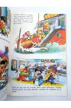 Contracubierta de COL.LECCIÓ JO SERE… 1 A 8. COMPLETA. 2ª edición. EN CATALÁN (Jan I Cris) Bruguera 1984