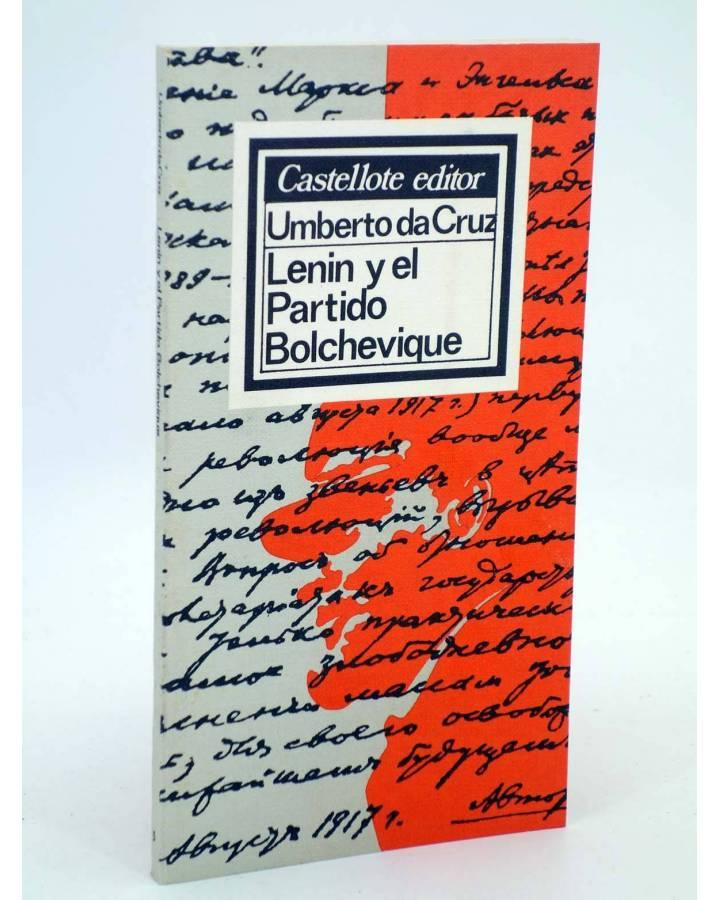 Cubierta de BÁSICA 5. LENIN Y EL PARTIDO BOLCHEVIQUE (Umberto Da Cruz) Castellote 1976