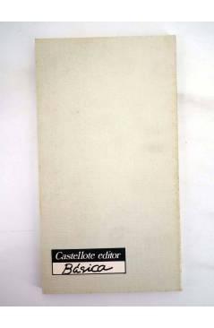 Contracubierta de BÁSICA 5. LENIN Y EL PARTIDO BOLCHEVIQUE (Umberto Da Cruz) Castellote 1976