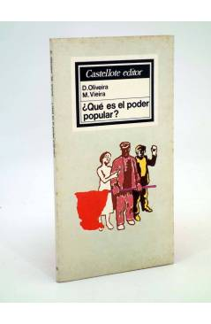 Cubierta de BÁSICA 10. ¿QUÉ ES EL PODER POPULAR? (D Oliveira M. Vieira) Castellote 1976