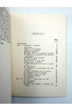 Muestra 1 de BÁSICA 15 40-42. LAS LUCHAS SOCIALES EN LOS GREMIOS (Jean Jacques) Castellote 1972