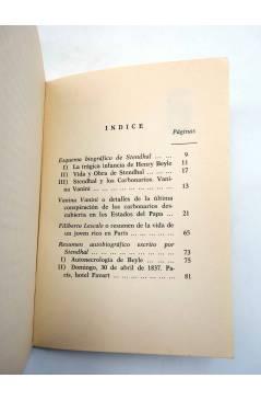 Muestra 1 de BÁSICA 15 156-157. VANINA VANINI Y OTROS ESCRITOS (Stendhal) Castellote 1973