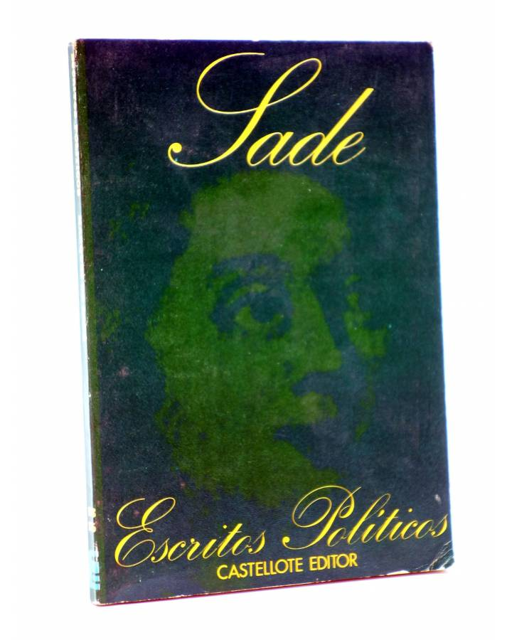 Cubierta de BÁSICA 15 173-175. ESCRITOS POLÍTICOS (Marqués De Sade) Castellote 1973