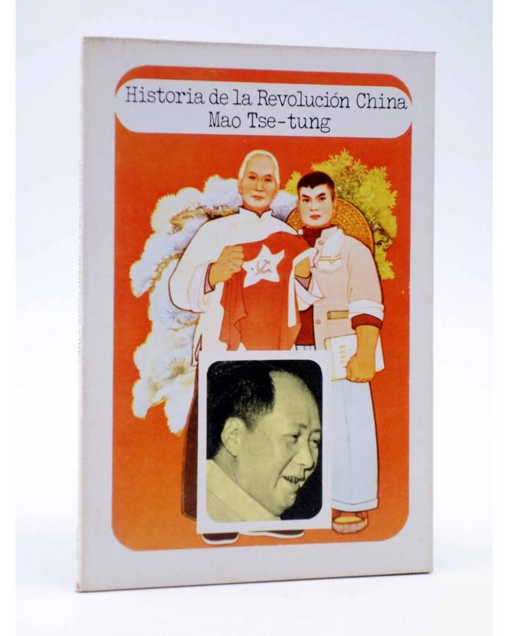 Cubierta de BÁSICA 15 297-300. HISTORIA DE LA REVOLUCIÓN CHINA (Mao Tse Tung) Castellote 1976