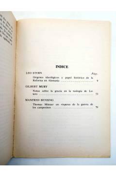 Muestra 1 de BÁSICA 15 360-361. INTRODUCCIÓN A LA HISTORIA SOCIAL DE LA REFORMA (Stern / Mury / Bensing) Castellote 1976