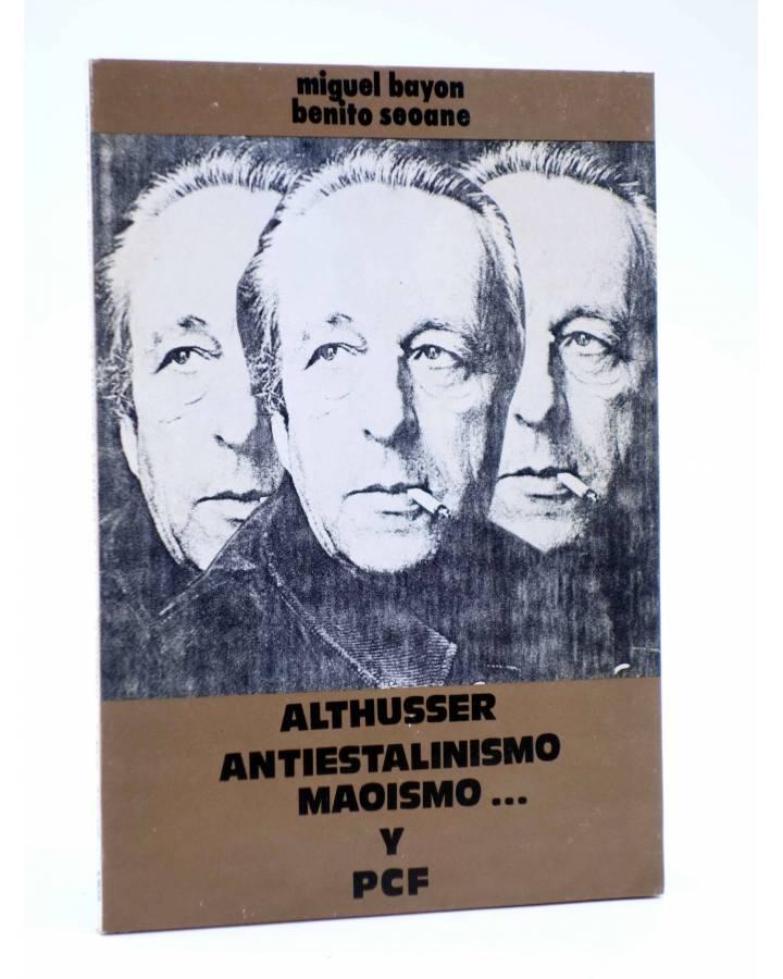 Cubierta de BÁSICA 15 358-359. ALTHUSSER: ANTIESTALINISMO MAOISMO Y PCF… (Miguel Bayón / Benito Seoane) Castellote 1976