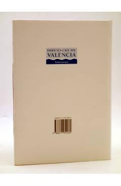 Contracubierta de BIOGRAFÍES VALENCIANES 3. JOSÉ RIBELLES COMÍN EL BIBLIÓGRAFO DE LA LENGUA VALENCIANA (R. Benito Vidal)