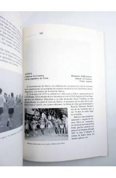 Muestra 3 de 1810-1989 LAS CARRERAS POPULARES EN LA PROVINCIA DE VALENCIA (R Agulló Albuixech) DPV 1990