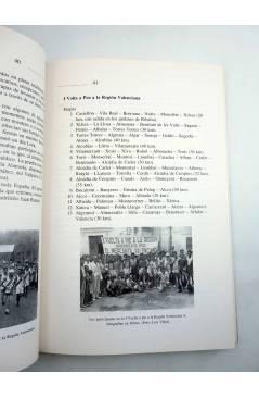 Muestra 6 de 1810-1989 LAS CARRERAS POPULARES EN LA PROVINCIA DE VALENCIA (R Agulló Albuixech) DPV 1990