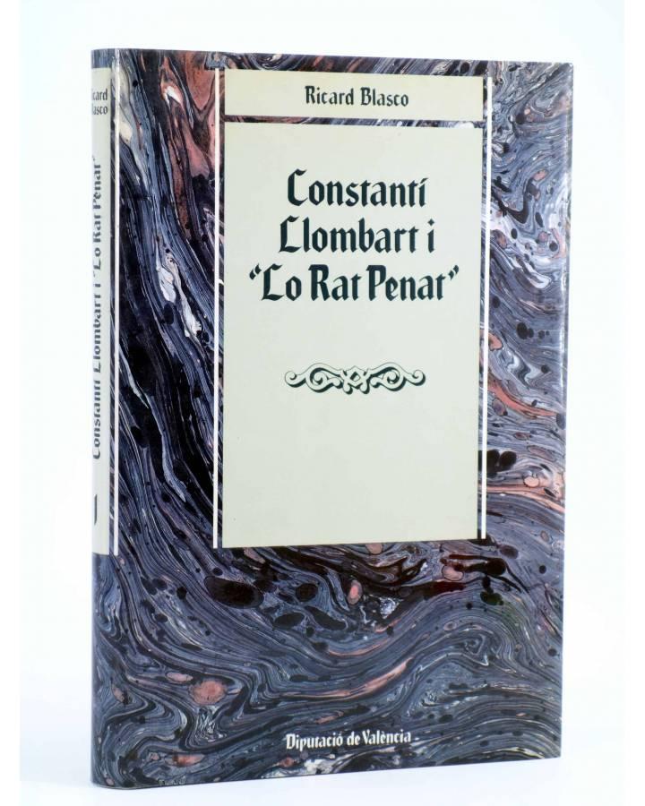Cubierta de CONSTANTI LLOMBART I LO RAT PENAT (Ricard Blasco) DPV 1985