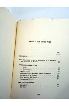 Muestra 1 de OBRA COMPLETA EN PROSA 8 (Juan Gil Albert) Alfonso el Magnánimo 1984