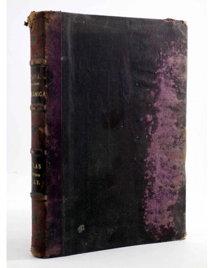 Cubierta de MECÁNICA APLICADA A LAS CONSTRUCCIONES. ATLAS (D. José Marvá Y Mayer) Julián Palacios 1909