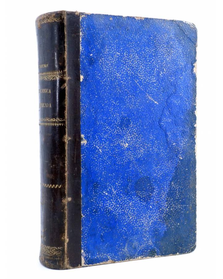Cubierta de MECÁNICA APLICADA (Delaunay) Bailly Bailliere 1869