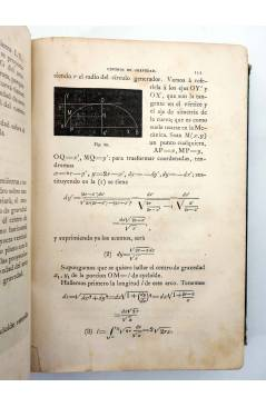 Muestra 3 de LECCIONES DE MECÁNICA RACIONAL. DOS TOMOS EN UN VOL (Tomás Ariño Y Sancho) Gregorio Estrada 1880