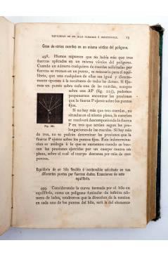 Muestra 4 de LECCIONES DE MECÁNICA RACIONAL. DOS TOMOS EN UN VOL (Tomás Ariño Y Sancho) Gregorio Estrada 1880