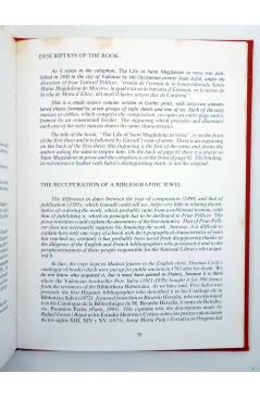 Muestra 4 de LA VIDA DE UNA SANTA MAGDALENA EN COBBLES. ESTUCHE. EJEMPLAR 66/500 (Jaume Gassull) Saidia 1987