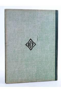 Contracubierta de COLECCIÓN LA VUELTA AL MUNDO 1. EN LAS SELVAS DE ÁFRICA (J. Gabarras) Dalmau Carles Pla 1964