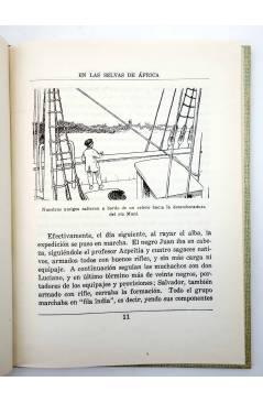 Muestra 2 de COLECCIÓN LA VUELTA AL MUNDO 1. EN LAS SELVAS DE ÁFRICA (J. Gabarras) Dalmau Carles Pla 1964