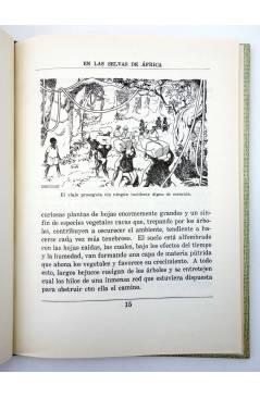 Muestra 3 de COLECCIÓN LA VUELTA AL MUNDO 1. EN LAS SELVAS DE ÁFRICA (J. Gabarras) Dalmau Carles Pla 1964