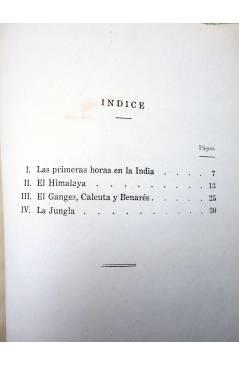 Muestra 1 de COLECCIÓN LA VUELTA AL MUNDO 3. EN LA INDIA MISTERIOSA (J. Gabarras) Dalmau Carles Pla 1964