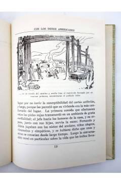 Muestra 3 de COLECCIÓN LA VUELTA AL MUNDO 6. CON LOS INDIOS AMERICANOS (J. Gabarras) Dalmau Carles Pla 1964