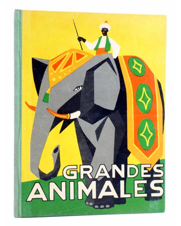 Cubierta de LOS ANIMALES Y SUS COSTUMBRES VOL 2. GRANDES ANIMALES (M. Mas Sala) Dalmau Carles Pla 1957