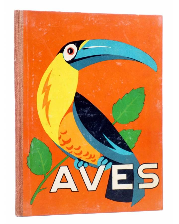 Cubierta de LOS ANIMALES Y SUS COSTUMBRES VOL 3. AVES (M. A De Gascons) Dalmau Carles Pla 1957