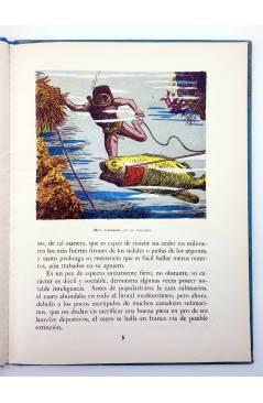 Muestra 1 de LOS ANIMALES Y SUS COSTUMBRES VOL 4. SERES DEL FONDO DEL MAR (M. A De Gascons) Dalmau Carles Pla 1957