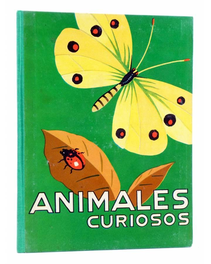 Cubierta de LOS ANIMALES Y SUS COSTUMBRES VOL 5. ANIMALES CURIOSOS (A. Lorenzana) Dalmau Carles Pla 1957