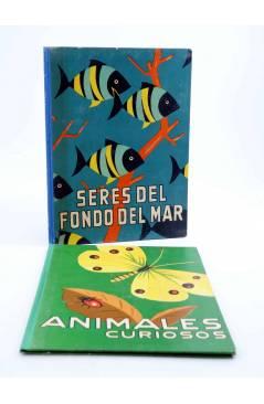 Contracubierta de LOS ANIMALES Y SUS COSTUMBRES 1 A 6. COMPLETA (Vvaa) Dalmau Carles Pla 1957
