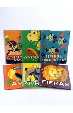 Muestra 6 de LOS ANIMALES Y SUS COSTUMBRES 1 A 6. COMPLETA (Vvaa) Dalmau Carles Pla 1957