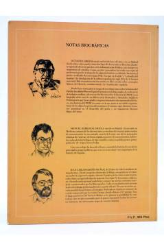 Contracubierta de PSOE HISTORIA DEL SOCIALISMO ESPAÑOL EN COMIC (Cabezas / Muelas / Berrocal) Comic MAM 1982