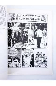 Muestra 2 de PSOE HISTORIA DEL SOCIALISMO ESPAÑOL EN COMIC (Cabezas / Muelas / Berrocal) Comic MAM 1982