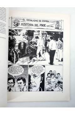 Muestra 4 de PSOE HISTORIA DEL SOCIALISMO ESPAÑOL EN COMIC (Cabezas / Muelas / Berrocal) Comic MAM 1982