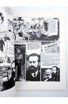 Muestra 6 de PSOE HISTORIA DEL SOCIALISMO ESPAÑOL EN COMIC (Cabezas / Muelas / Berrocal) Comic MAM 1982