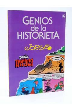 Cubierta de GENIOS DE LA HISTORIETA 4. DOÑA URRACA (Jorge) Bruguera 1985