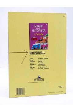 Contracubierta de GENIOS DE LA HISTORIETA 4. DOÑA URRACA (Jorge) Bruguera 1985