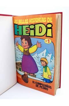Muestra 5 de LAS BELLAS HISTORIAS DE HEIDI 1 A 62 (SALVO 58). EN UN TOMO (Jan Y Otros) Bruguera 1975
