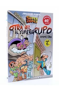 Cubierta de MAGOS DEL HUMOR 156. SUPER LÓPEZ SUPERLÓPEZ OTRA VEZ EL SUPERGRUPO (Efepé / Jan) B 2013