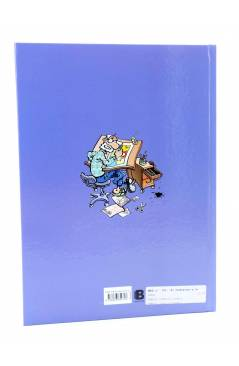 Contracubierta de MAGOS DEL HUMOR 163. SUPER LÓPEZ SUPERLÓPEZ EL SUPERGRUPO Y LA GUERRA D LAS LATAS (Efepé / Jan) B 2014