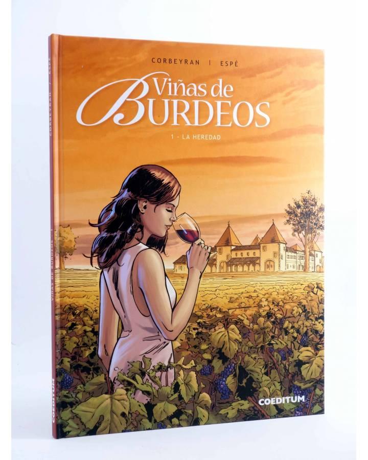 Cubierta de VIÑAS DE BURDEOS 1. LA HEREDAD (Corbeyran / Espé) Coeditum 2015