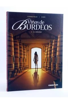 Cubierta de VIÑAS DE BURDEOS 2. EL ENÓLOGO (Corbeyran / Espé) Coeditum 2015