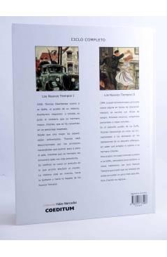 Contracubierta de VIDAS MARCADAS 2. LOS NUEVOS TIEMPOS (E. Warnauts / G. Raives) Coeditum 2016