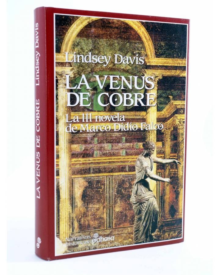 Cubierta de MARCO DIDIO FALCO 3. LA VENUS DE COBRE (Lindsey Davis) Edhasa 2002