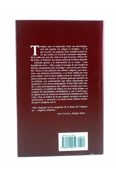 Contracubierta de MARCO DIDIO FALCO 3. LA VENUS DE COBRE (Lindsey Davis) Edhasa 2002