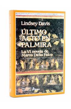 Cubierta de MARCO DIDIO FALCO 6. ÚLTIMO ACTO EN PALMIRA (Lindsey Davis) Edhasa 1997
