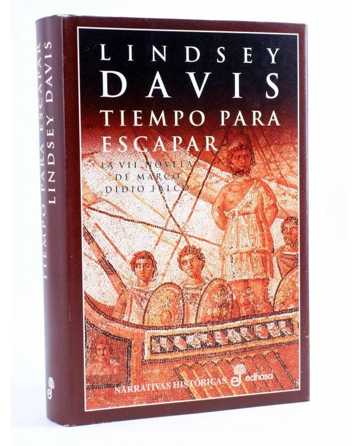 Cubierta de MARCO DIDIO FALCO 7. TIEMPO PARA ESCAPAR (Lindsey Davis) Edhasa 2004