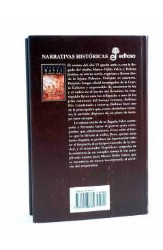 Contracubierta de MARCO DIDIO FALCO 7. TIEMPO PARA ESCAPAR (Lindsey Davis) Edhasa 2004