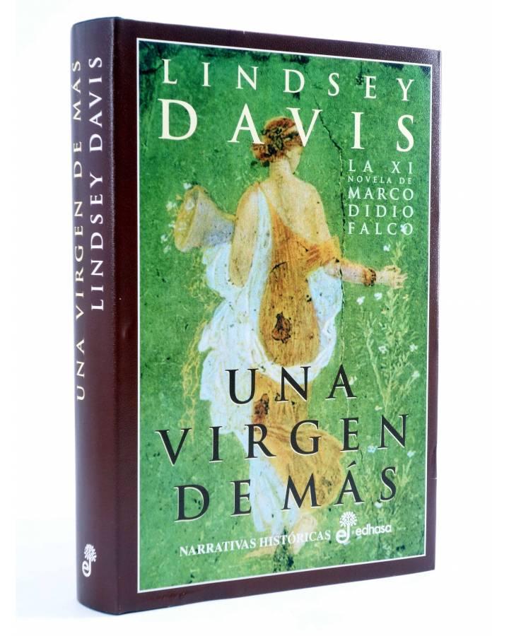 Cubierta de MARCO DIDIO FALCO 11. UNA VIRGEN DE MÁS (Lindsey Davis) Edhasa 2003